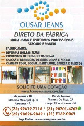 Ousar Jeans e Uniformes Profissionais