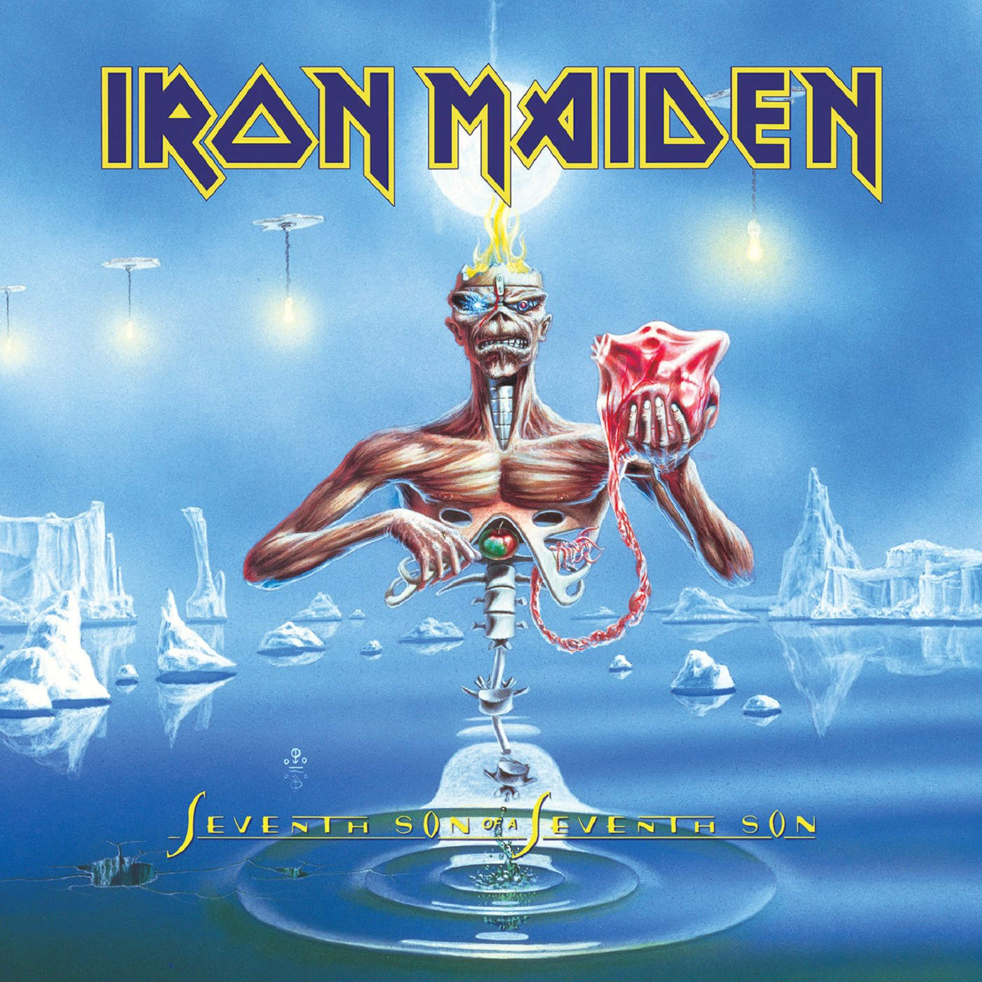 Iron maiden uk seventh son of a seventh son 1988 mastered for