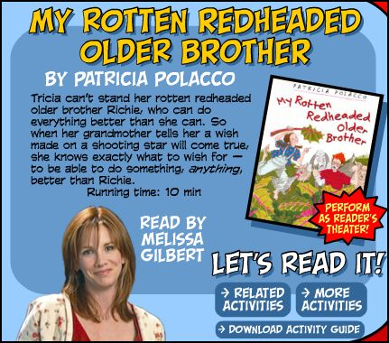 My Rotten Redheaded Older Brother - Parents Scholasticcom