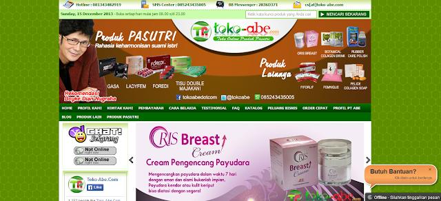 Toko-abe.com Toko Online Herbal Terpercaya