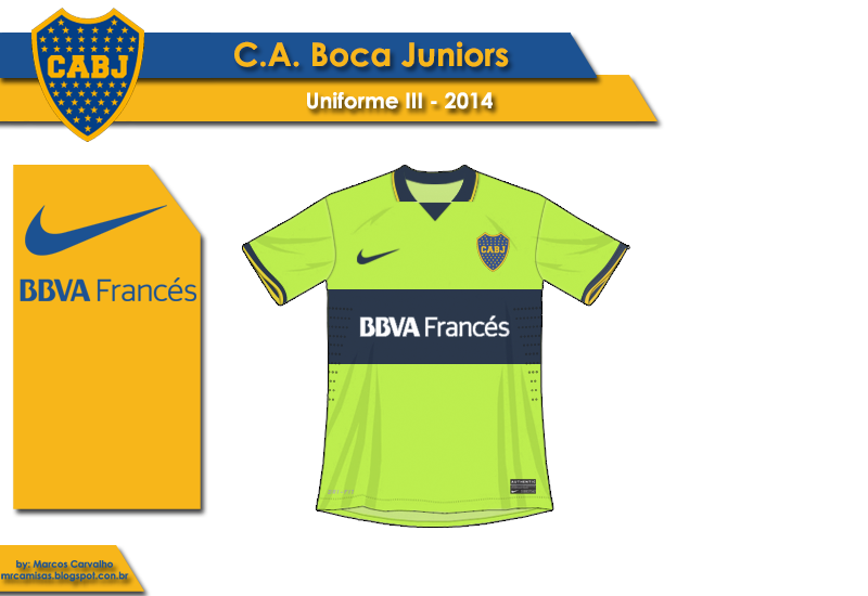 Boca Juniors III 2014 - Nike | MR Camisas