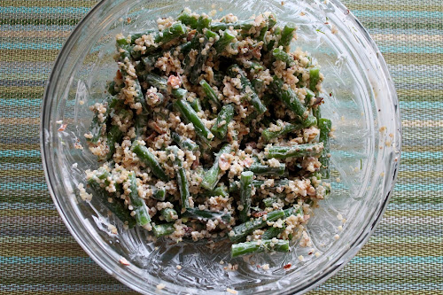 Green Bean Salad with Almonds and Quinoa