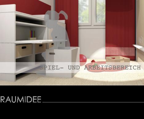 kinderzimmerideen kinderzimmer mit kleinem spielbereich. Black Bedroom Furniture Sets. Home Design Ideas