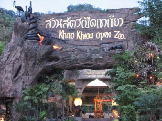 حديقة حيوان خاو خيو المفتوحة في بتايا