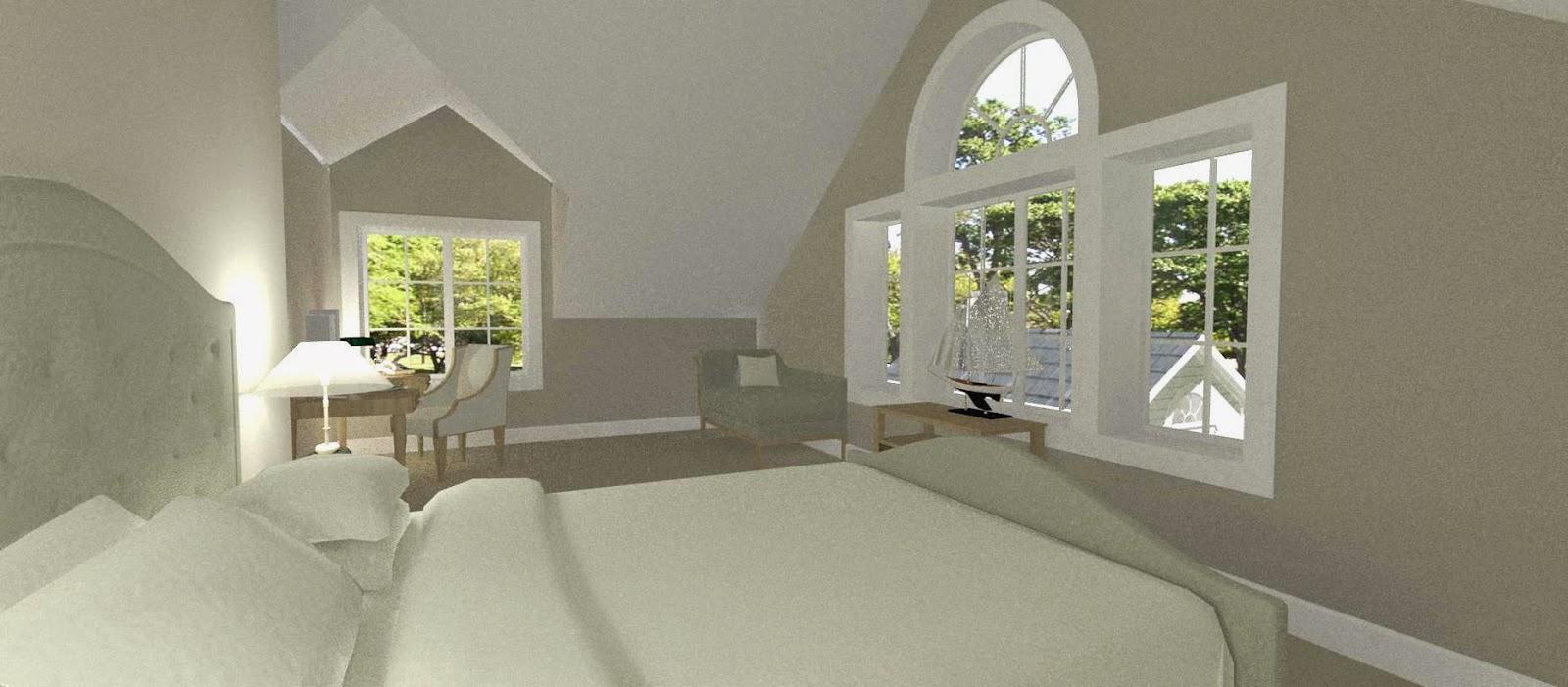 Dreams& Coffees arkitekt och projektblogg 1,5 plans New Englandhus