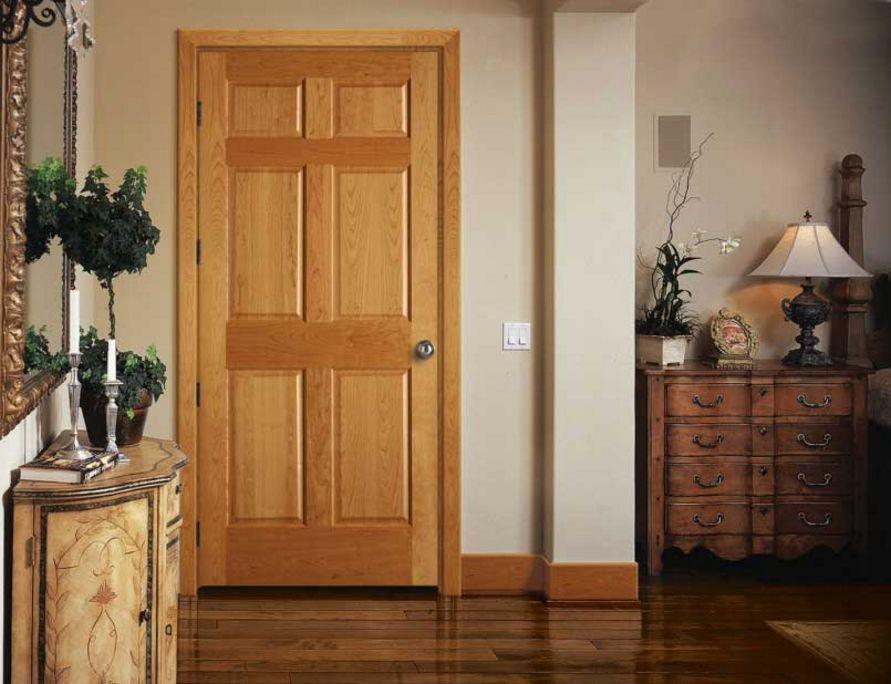 model cat pintu untuk rumah minimalis populer