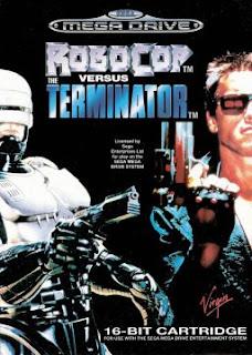 Robocop vs Terminator Sega