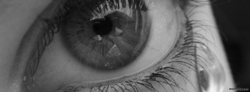 Gözyaşı siyah beyaz kapak fotoğrafı