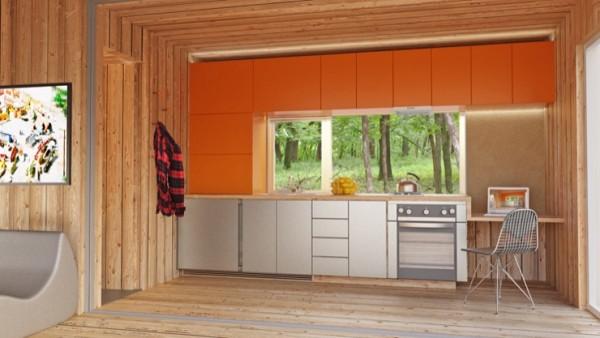 Casas contenedores alp 320 casa prefabricada de meka - Casas hechas con contenedores precios ...