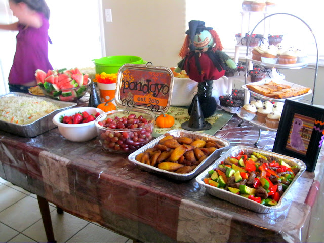 Fall themed housewarming party the deets the foley fam for Creative housewarming party ideas