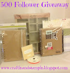 Craftin&#39; and Stampin&#39;s 500 Follower Giveaway!