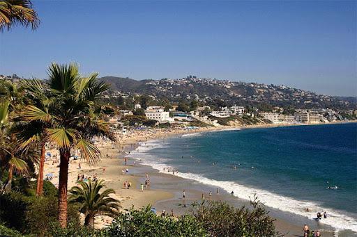 Traumstrand von Laguna Beach