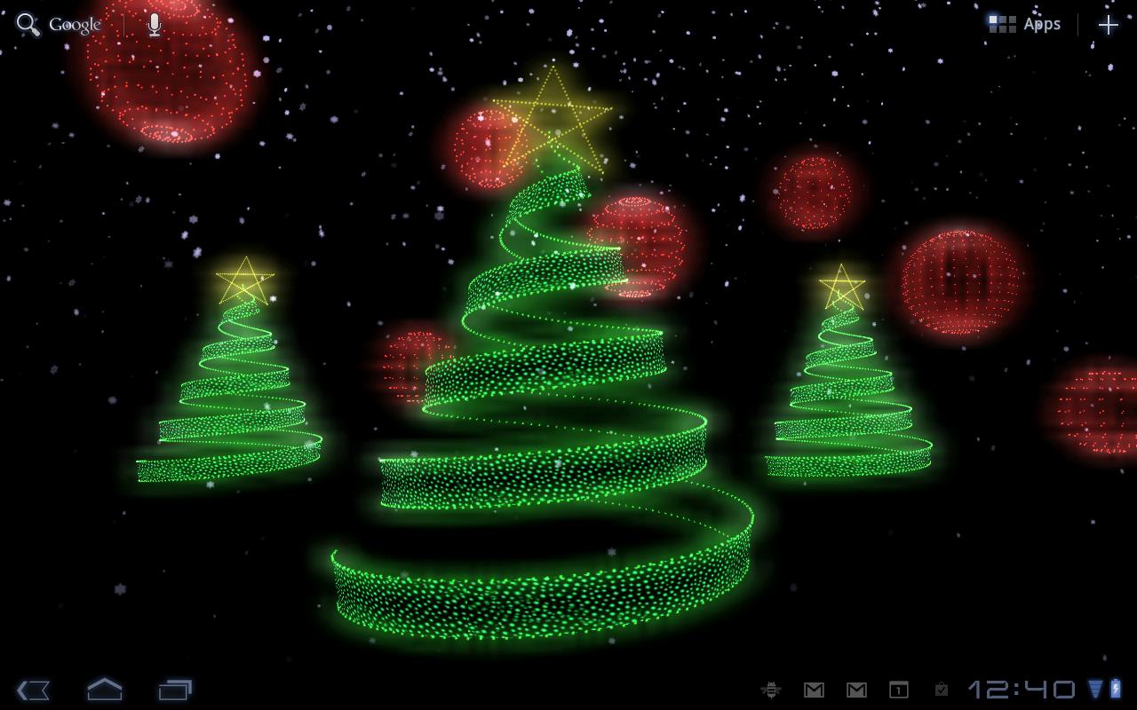 kittehface software: holiday lights live wallpaper v1.0