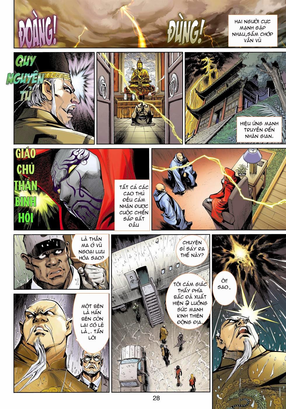 Thần Binh 4 chap 25 - Trang 30