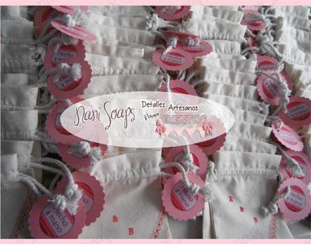 Bolsas hechas a mano detalles boda