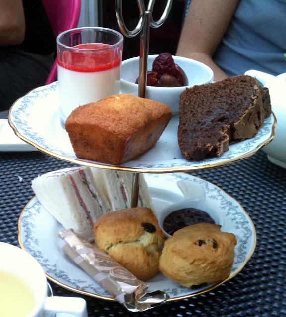 Afternoon tea à l'Hôtel La Belle Juliette