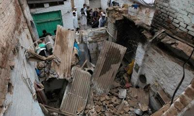 Quang cảnh động đất tại Afghanistan và Pakistan