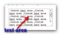 kotak text area