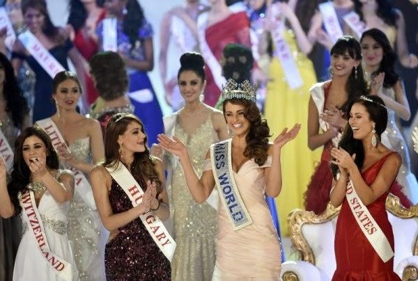 Мис Южна Африка - Ролийн Строс, бе избрана тази вечер за Мис Свят 2014