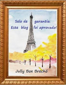 Selinho do JullyBox Brechó
