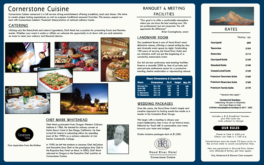 Hotel Brochures Sample  BesikEightyCo