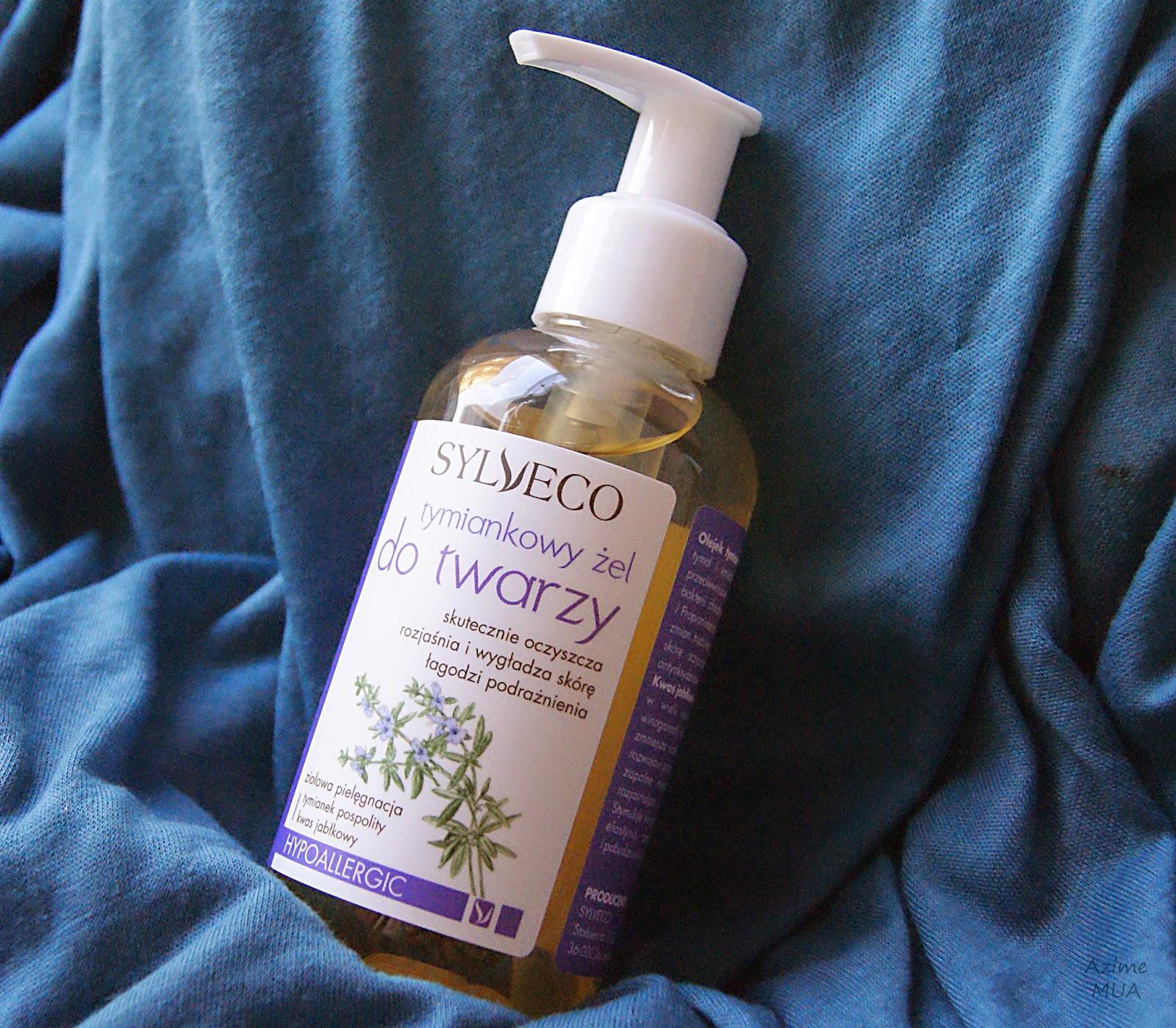[167.] Recenzja żelu do mycia twarzy Sylveco, wersja tymiankowa.