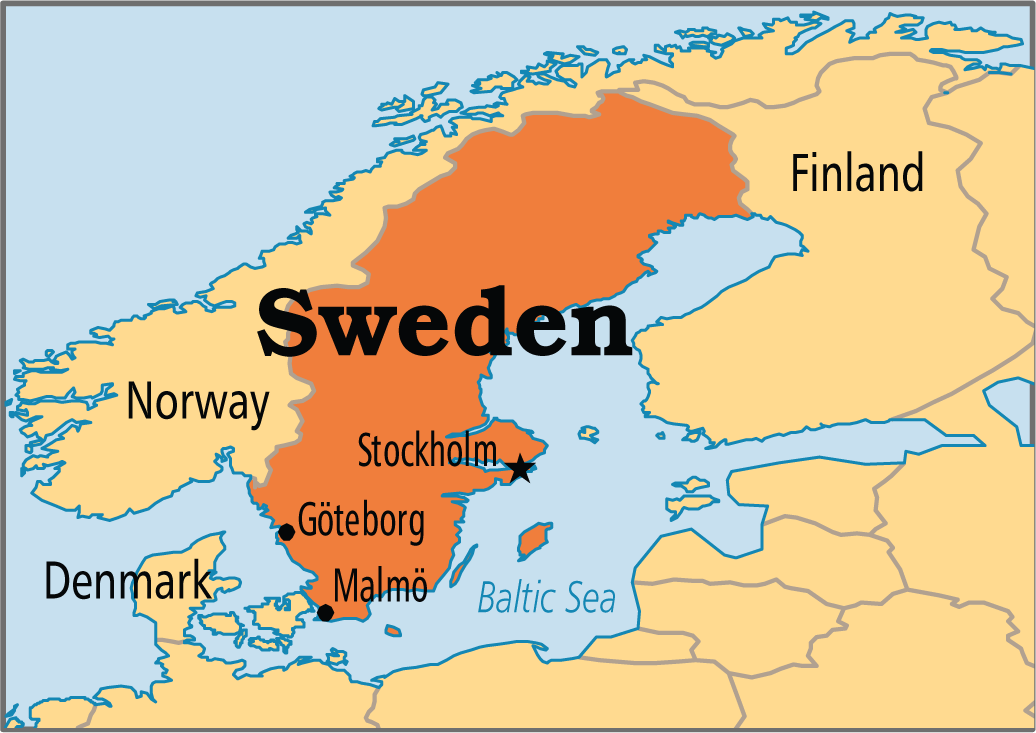 Important Interesting Facts About Sweden Now Know It - Sweden map facts