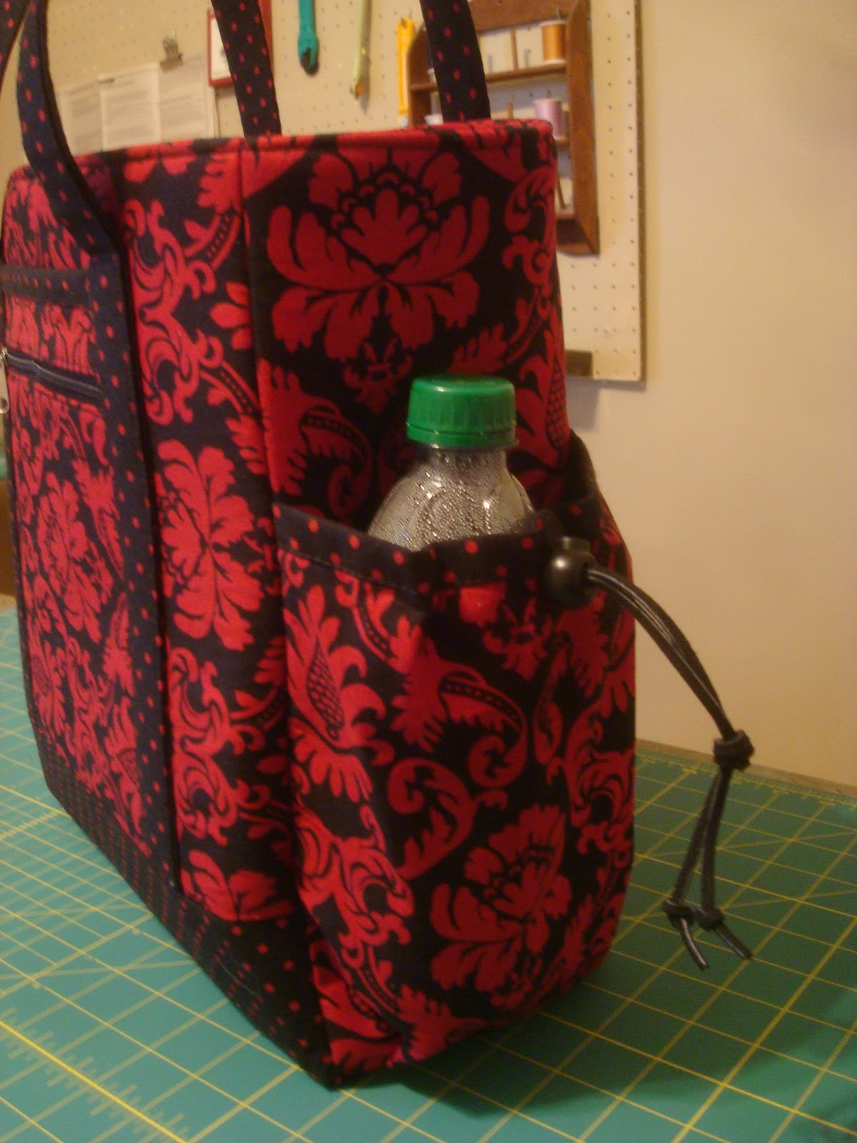 because i say sew my new travel bag