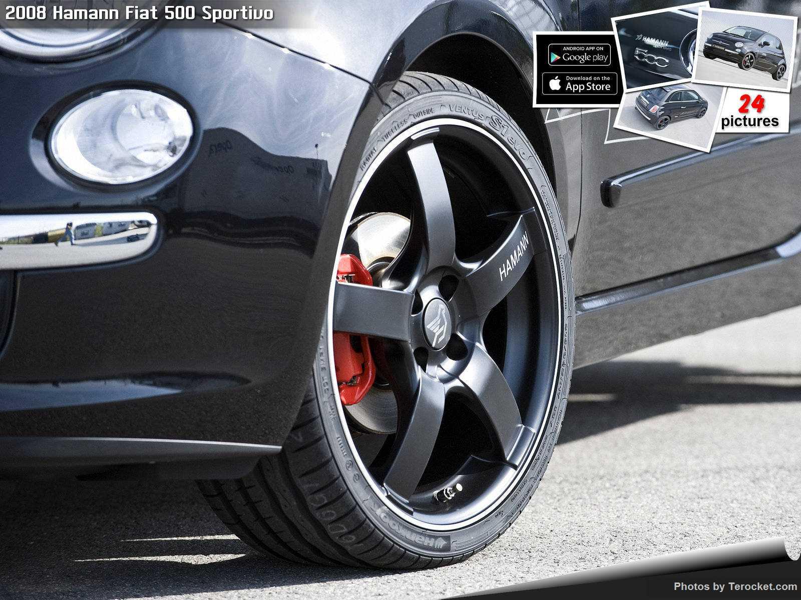 Hình ảnh xe ô tô Hamann Fiat 500 Sportivo 2008 & nội ngoại thất