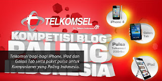 Kompetisi Blog Telkomsel (Paling Indonesia)