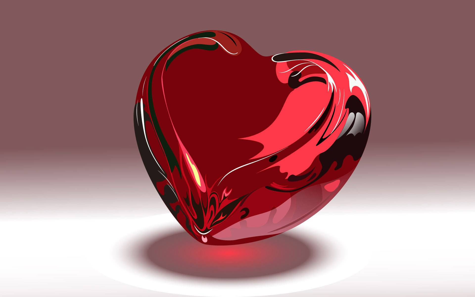 beautiful hearts wallpapers