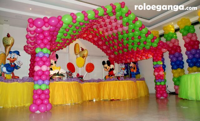 Como hacer figuras con globos dossier for Como adornar con globos