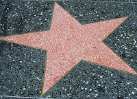 Hollywood Walk Star image from Bobby Owsinski's Big Picture production blog