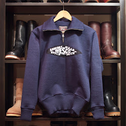 WESCO × DEHEN  MC SWEATER 『NAVY』