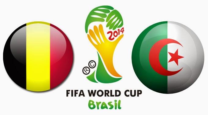 PREVIEW Pertandingan Belgia vs Algeria 17 Juni 2014 Malam Ini