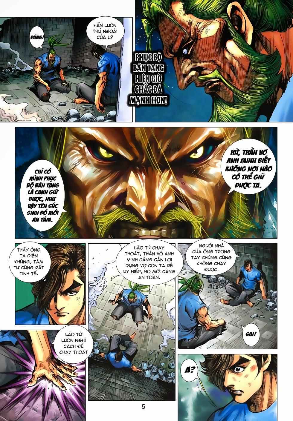 Tân Tác Long Hổ Môn chap 659 - Trang 5