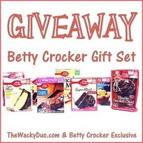 Betty  Croker Gift set giveaway