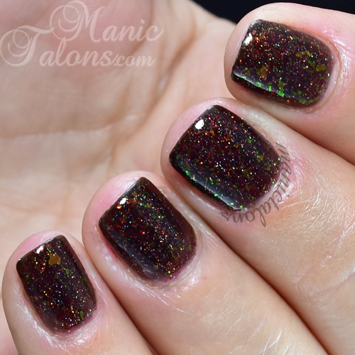 Girly Bits Friends Don't Give Friends Fruitcake Swatch