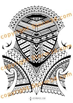 Samoan Tattoo For The Shoulder The Best Tattoo Designs