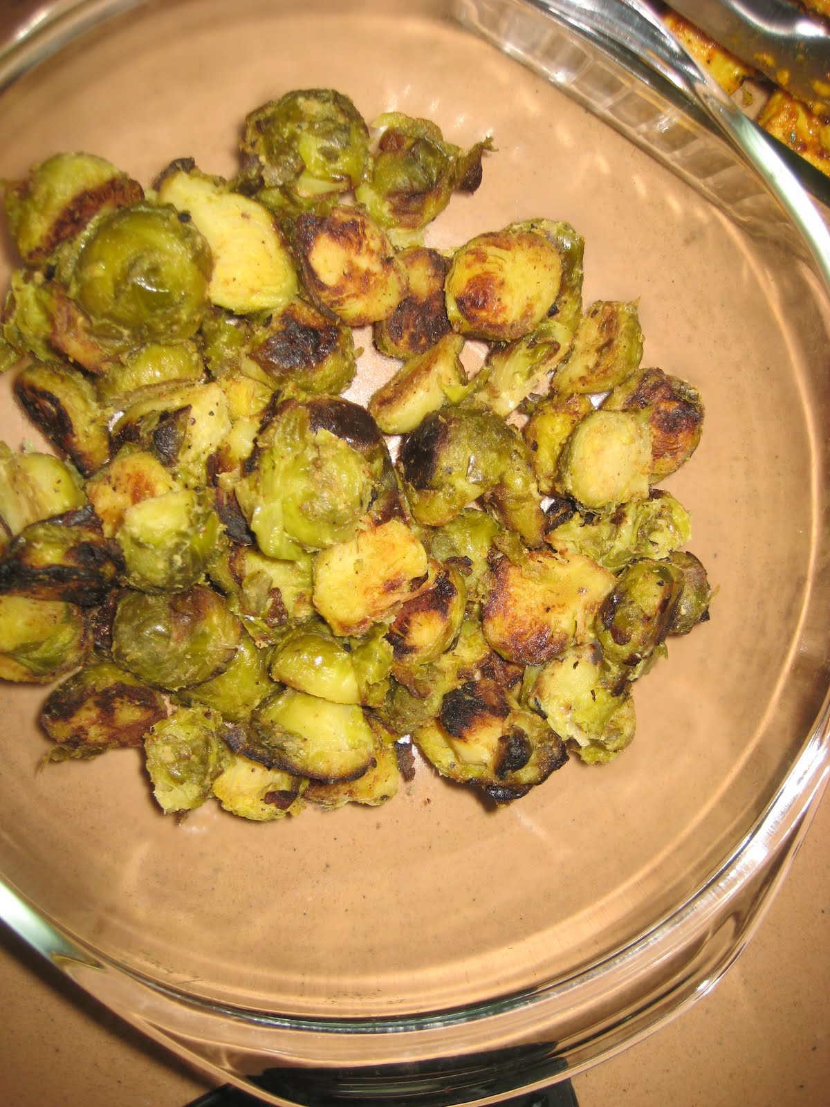 Healthy Morsel: Grilled Crispy Mustard Brussels Sprouts