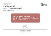 Parlament del Coneixement de Sarrià 17 febrer 2017