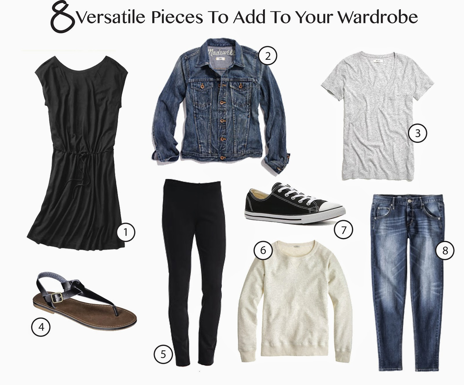 8 versatile pieces to add to your wardrobe