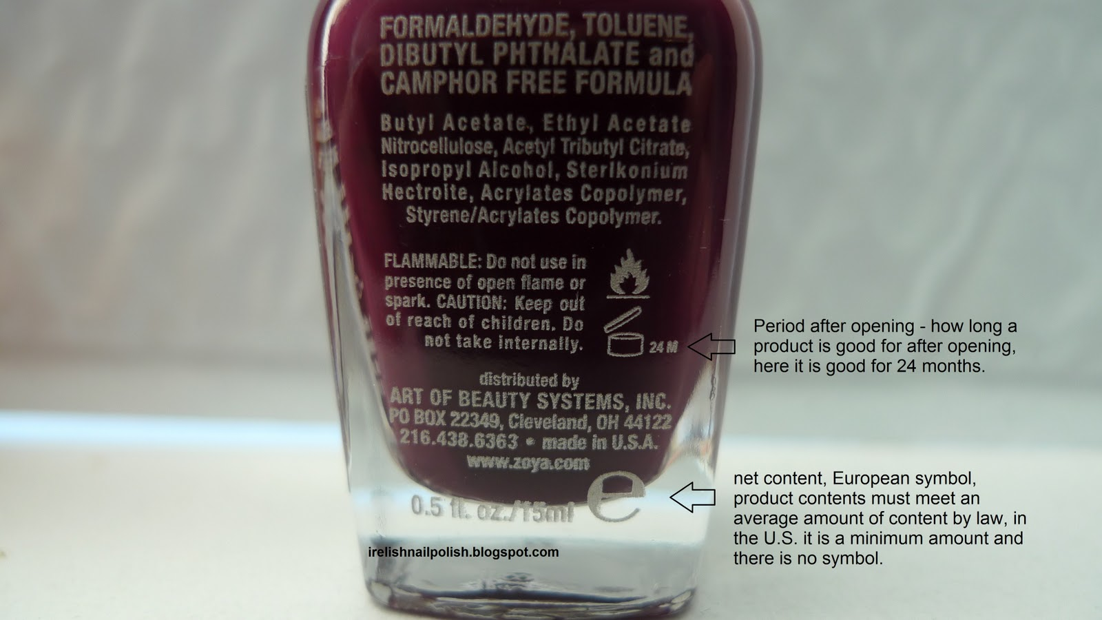 I relish nail polish what do those symbols mean on the back of zoya nail polish anja biocorpaavc