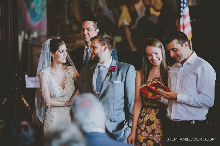 """santa barbara courthouse mural room wedding"""