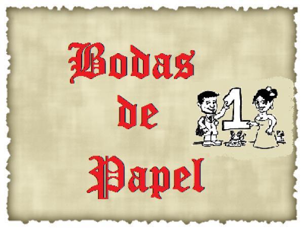 ღ ♥ Bodas de Papel 03 ღ ♥