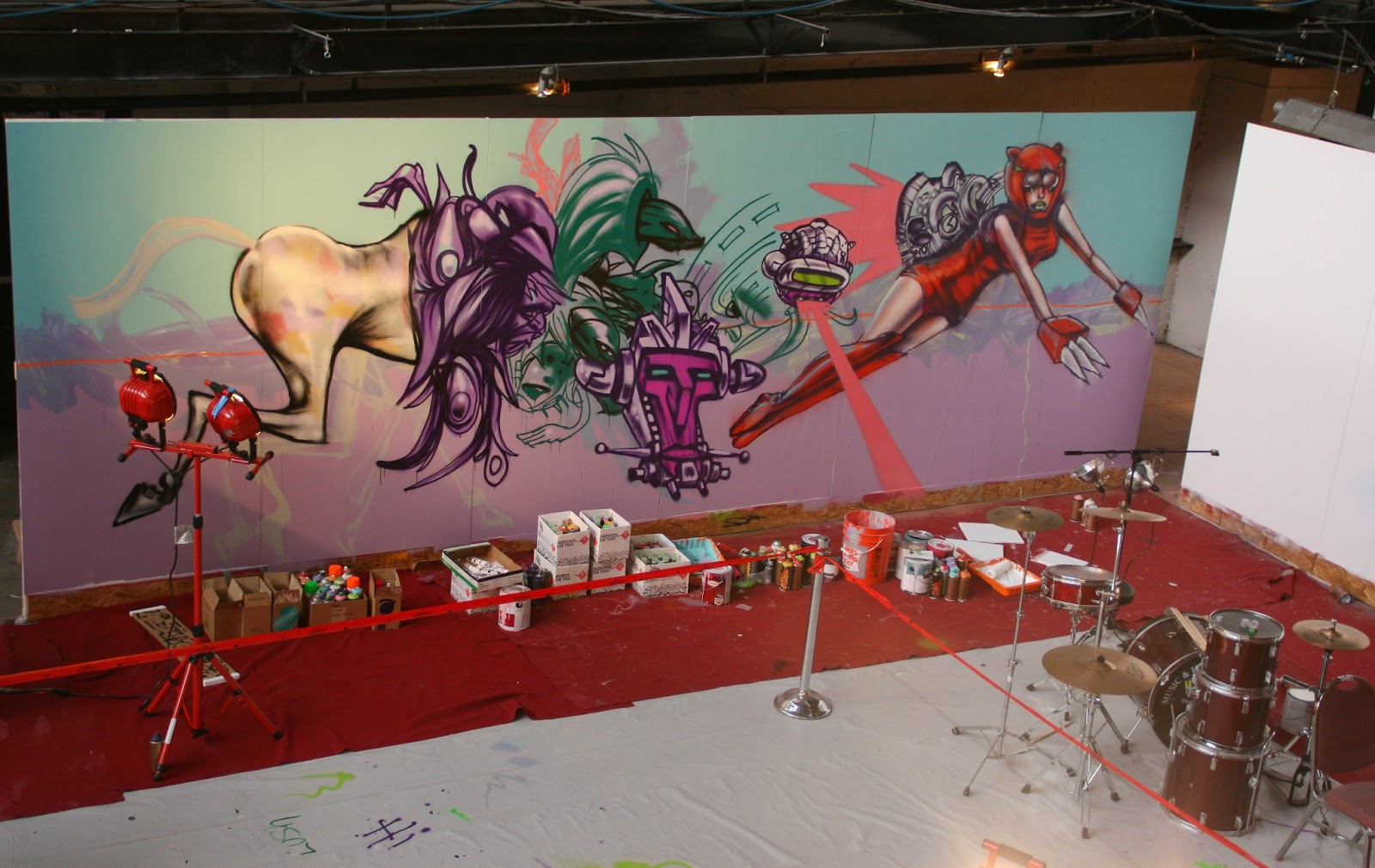 mural painting in Denver - denver mural painting