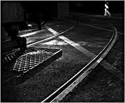 Binari del tram di Roma