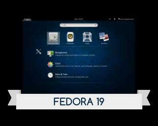 Fedora 19 disponible y posibles novedades del kernel 3.11, primeros pasos fedora 19,