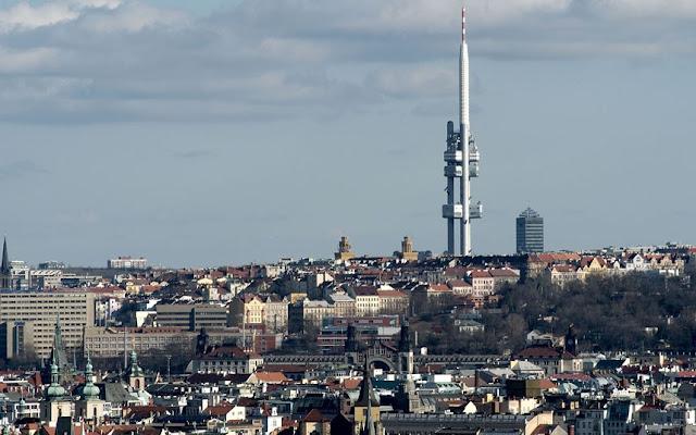 torre de la televisión en Praga