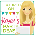 Featured on Kara's Party Ideas